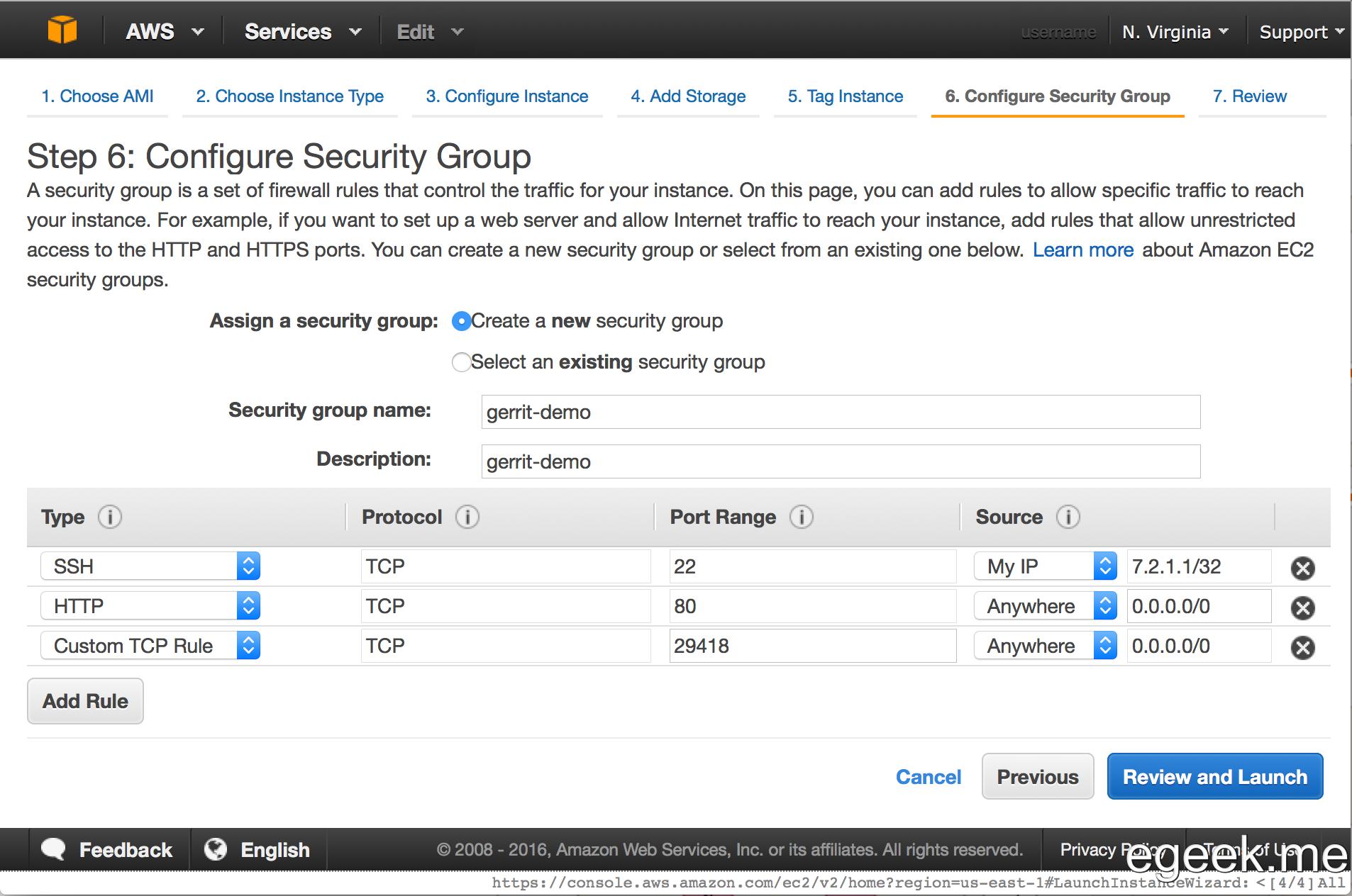 HowTo: Demo Gerrit server on AWS EC2 instance - KISS